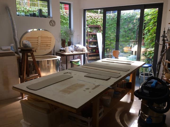 meine Werkstatt ...