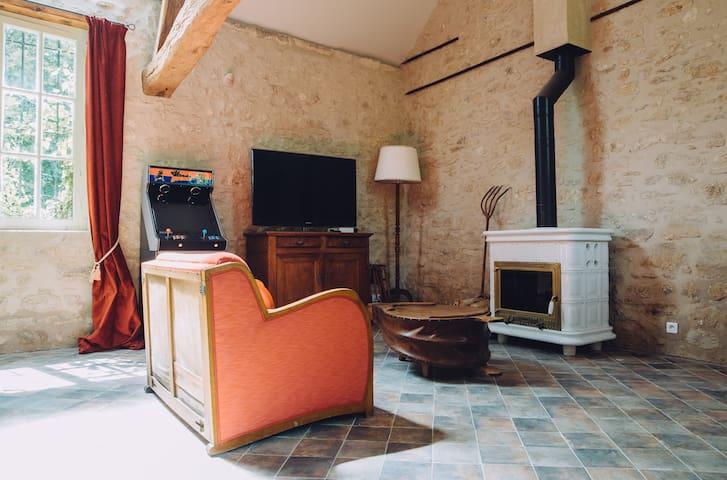 La grange de Rocquemont - Crépy-en-Valois - Apartamento