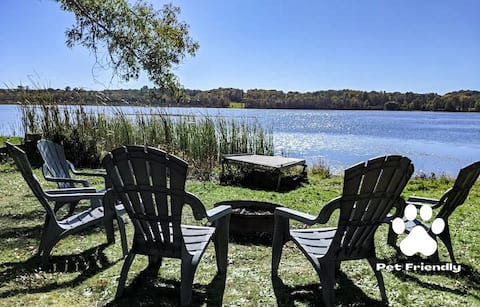 🌾Reeds on Bar Lake🌾 Relaxing Waterfront Cottage