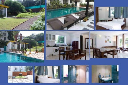 North Goa Luxury Apartment near Candolim Beach - House
