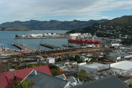 Languish in Lyttelton - Peaceful studio with views - Lyttelton - 公寓