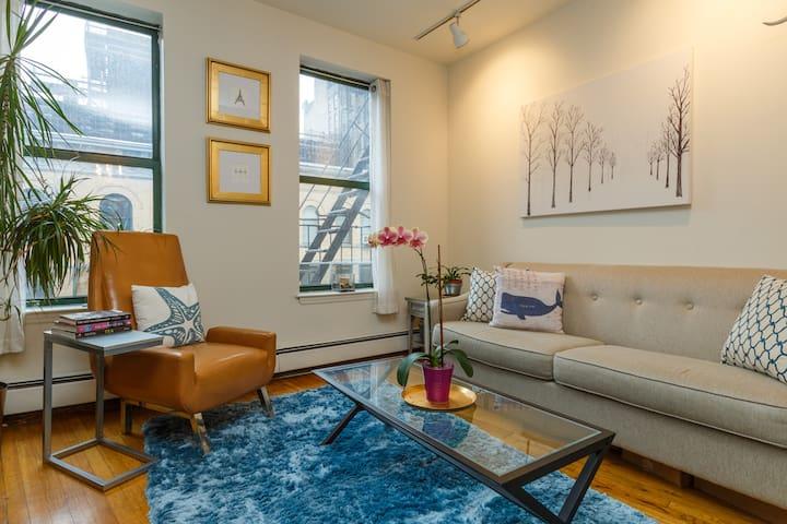 Bright, Beautiful Chelsea Apartment