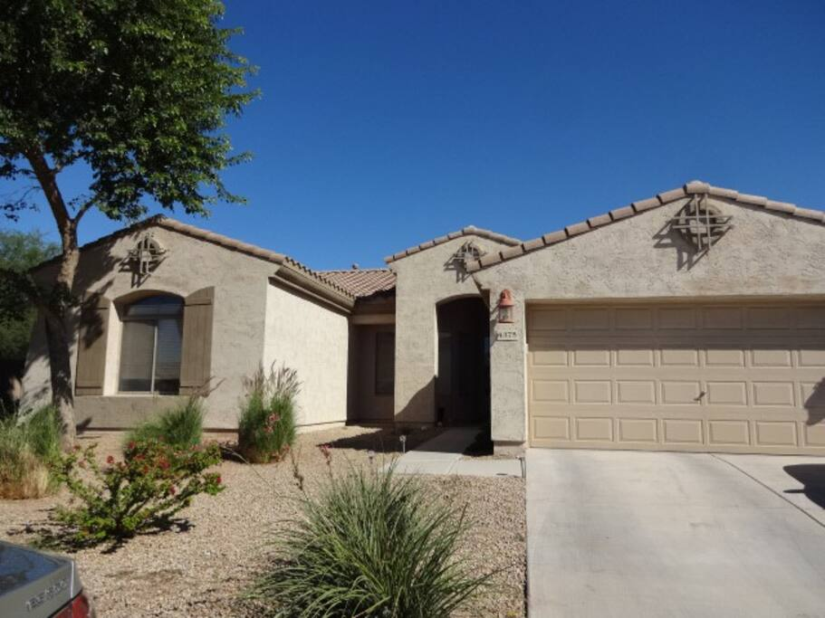 Large home in suburban Chandler.