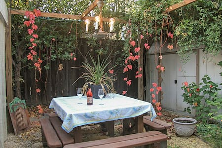 Katheryn is a great host. She is kind and looking forward to make you feel at home. Her house is small but put with a great taste. Location is OK, close enough to downtown Sonoma in an Uber. Only bad thing is that the room is missing a heater. The nights in Sonoma during the winter are tough, and we felt that having a small heater instead of a bunch of blankets would have made our trip a 10.