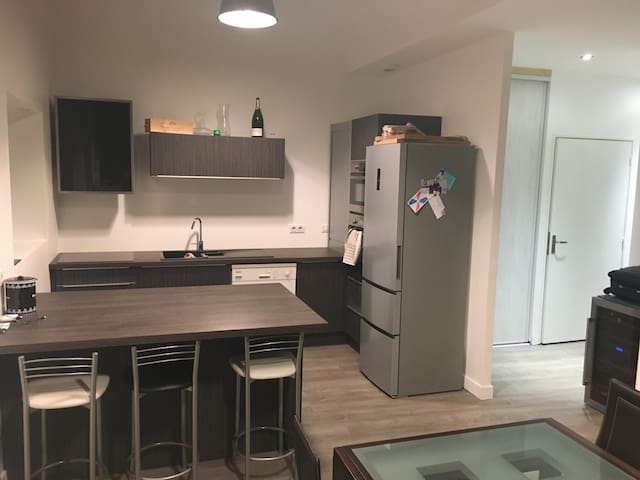 Euro 2016 4 couchages pour 400/nuit - Chambœuf - Appartement