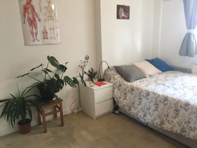 Bright Double Room | Stoke Newington