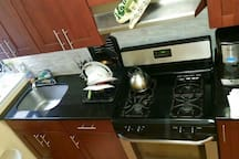Stainless steel appliances for your use!