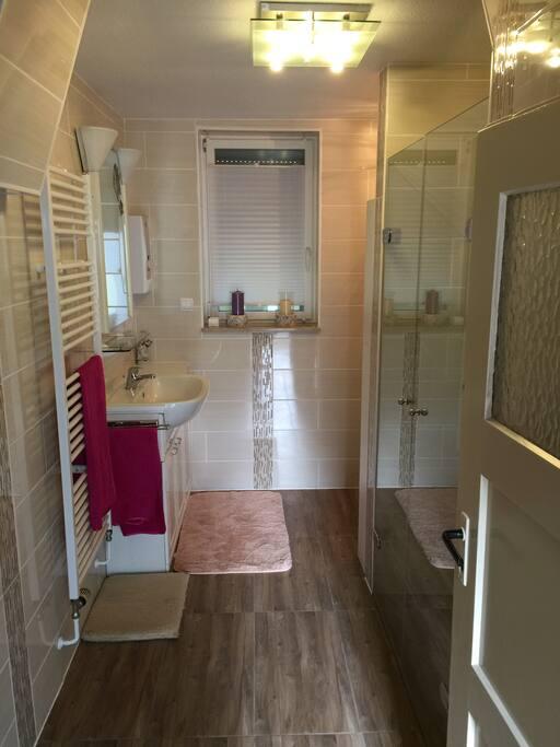 Waschplatz im Duschraum