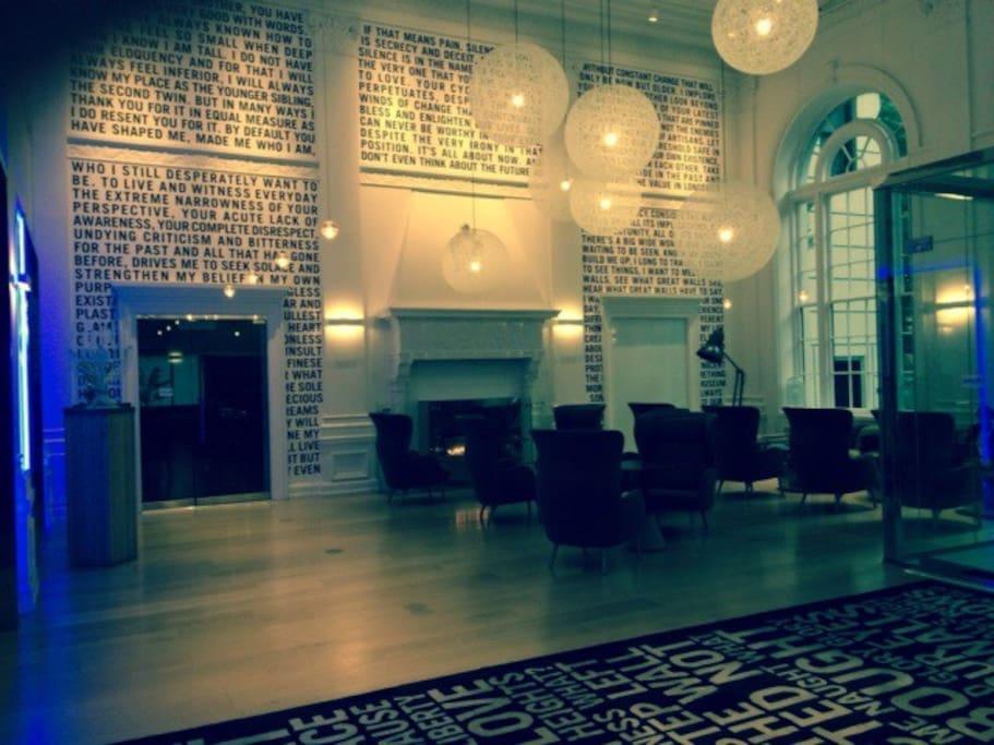 The new lobby!