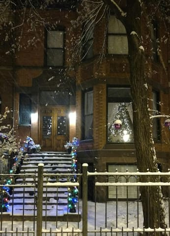 Cozy apt historic Jackson Bvld. - Chicago - Appartement