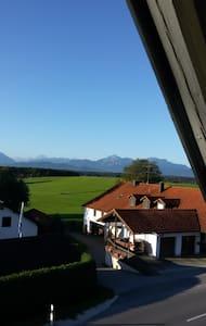 Zimmer mit Balkon - Bergblick - Laufen