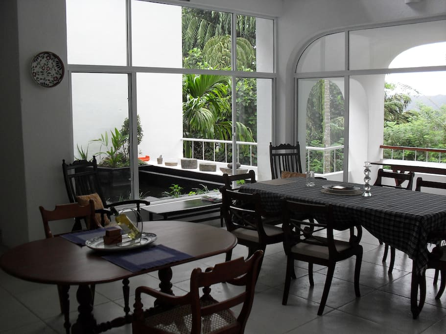 Your Breakfast to be enjoyed with the sounds of nature. In our dining area