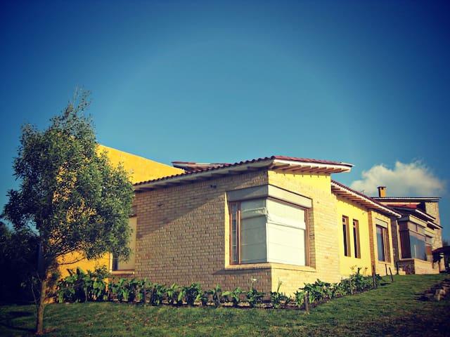 Casa en la laguna del sisga - Chocontá - Dům