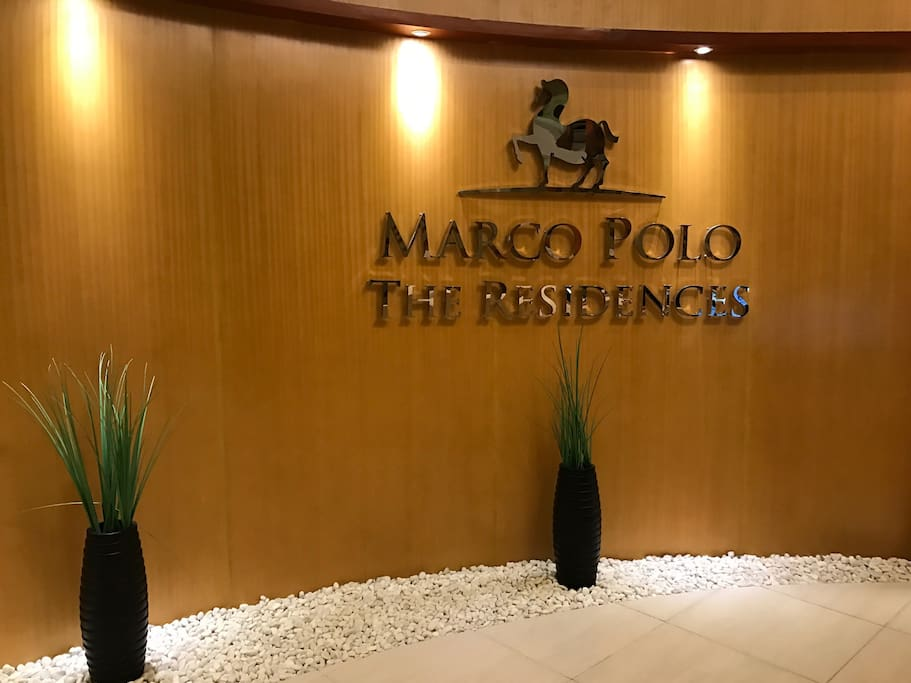 Lobby of Marco Polo Residences tower 1