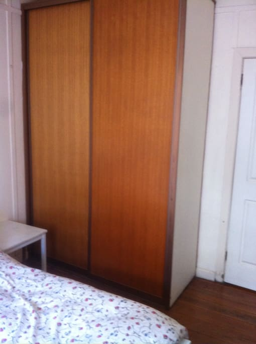 Bedroom: Spacious built-in wardrobe