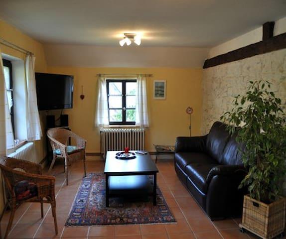 vaste salon, où il fait bon passer la soirée en famille, ou entre amis