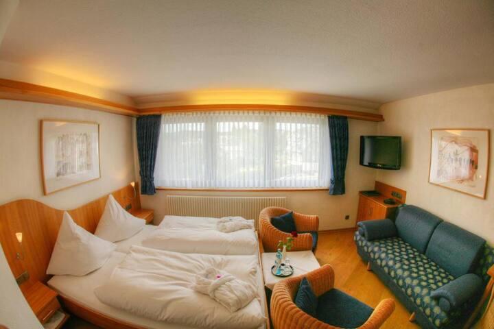 Hotel Liebesglück - Only-Adult-Hotel (Winterberg/Stadt) -, Doppelzimmer Exclusiv - direkt im Herzen von Winterberg