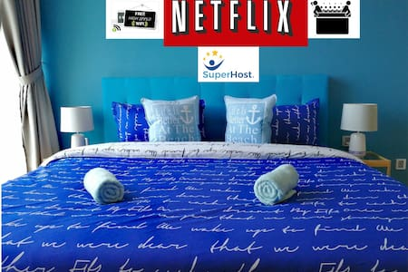 ❤️ HostaHome Couple Nest w/Jacuzzi NETFLIX Seaview