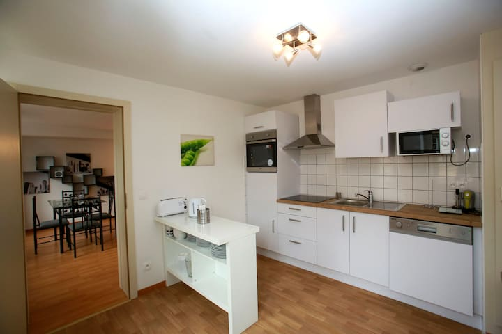 HARTMANN 2 bedrooms+livingroom 80m2 - Colmar - 公寓
