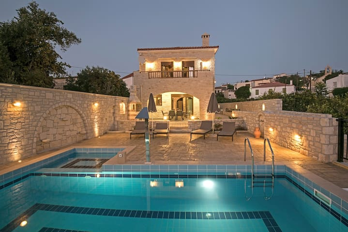 Brand New Pool Villa Semeli in a Quiet Location - Rethymno - Villa