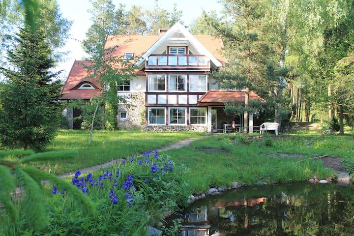 Villa Roza  na Kaszubach - Mezowo - Casa
