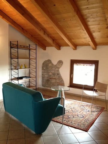 Beautiful attic apartment - Cividale del Friuli - Byt