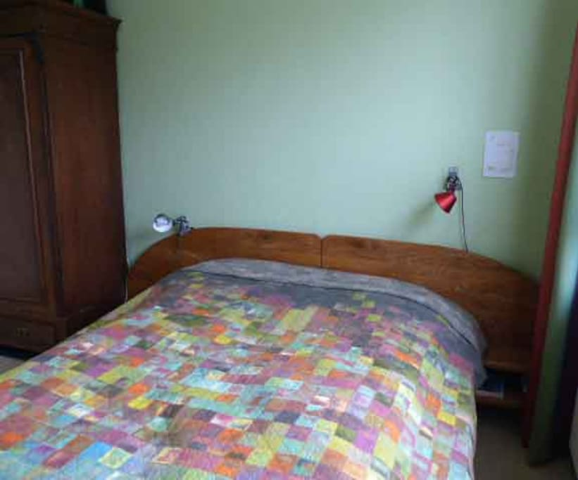 Hier können Sie auf festen Matratzen unter Federbetten schlafen.