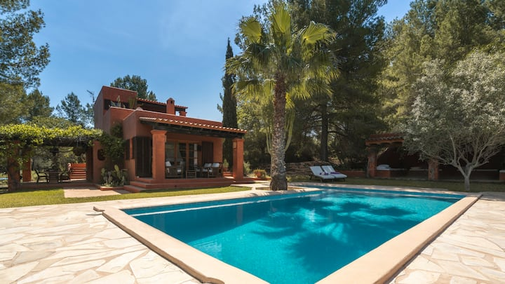 Cana Lúa.Charming villa with sea view and sunset.