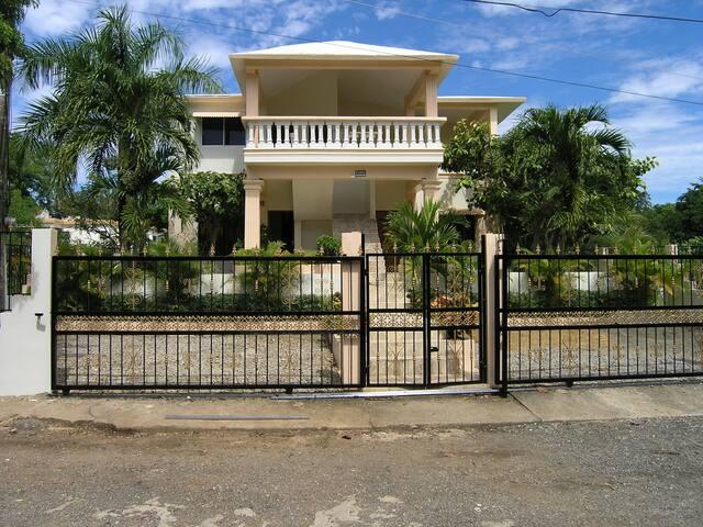 Casa Caleton, Apart. No. 2, Rio San Juan, 4 Pers.