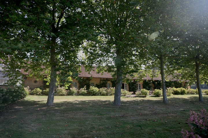 Chambre d'hôte au haras : CHAMPETRE - Salbris - Bed & Breakfast