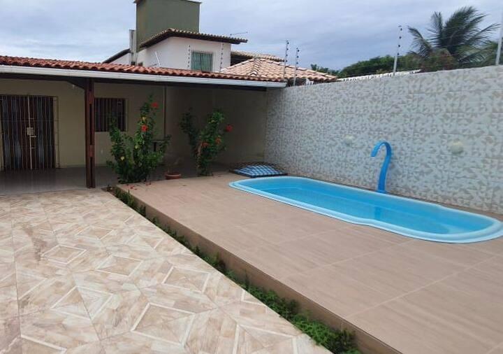 Casa de Praia, fica a 150m da melhor de Alagoas