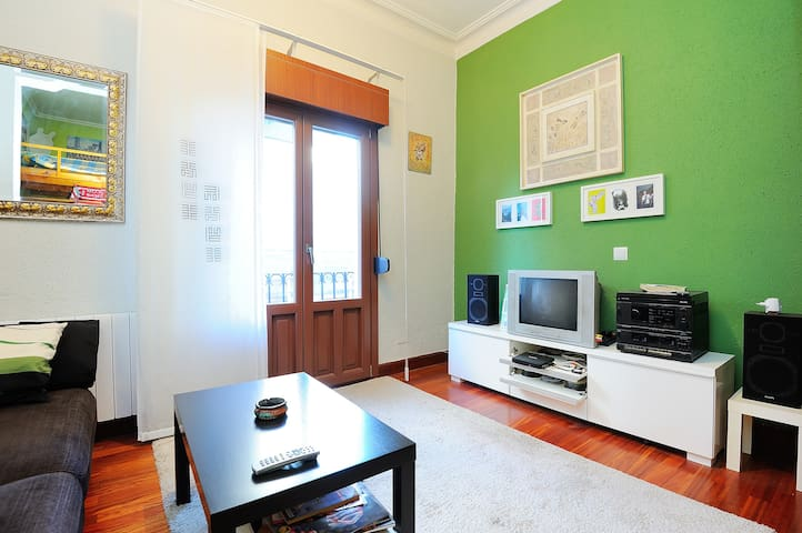 Habitacion sencilla. Single bedroom - Bilbao - House