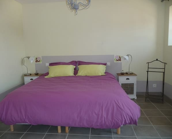 La Cotterie - Chambre d'hôtes Iris - Saint-Senoch - Bed & Breakfast