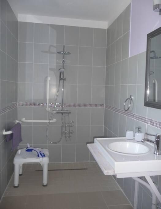 Salle d'eau chambre Iris