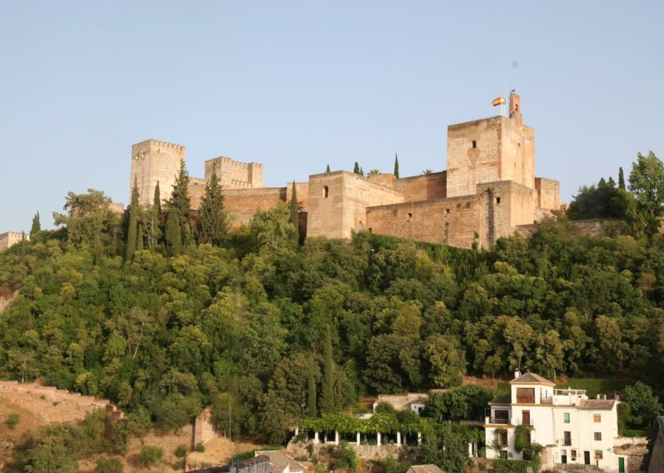 The villa and its gardens are right next to the Alhambra itself!
