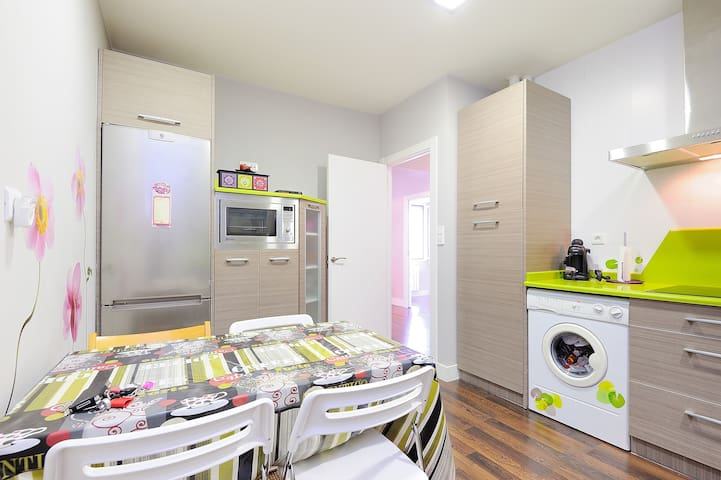 Lovely apart WIFI and garage - Bilbao - Appartement
