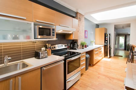 DREAMLOFT with PATIO & BBQ on the PLATEAU - Montreal
