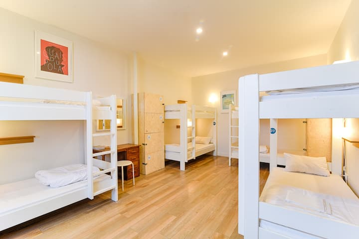 SLO Living Hostel - Chambre pour 8 personnes