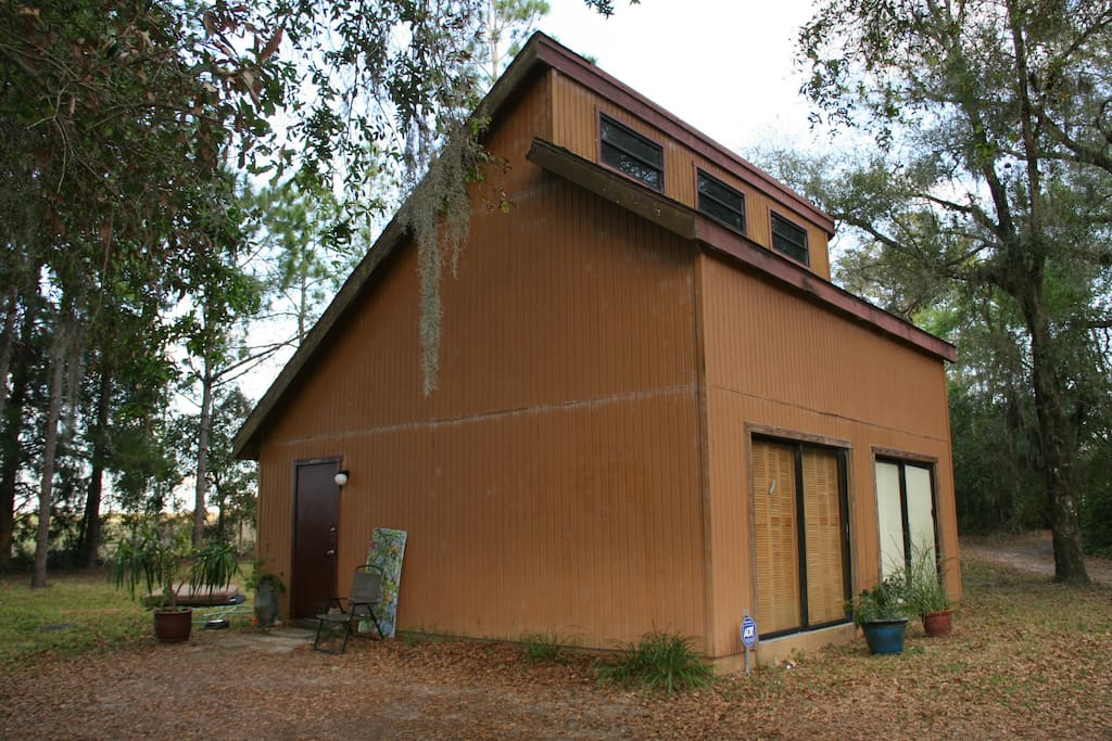 Artist's Studio in Cow Country