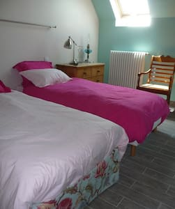 La Cotterie - Chambre Pivoines - Bed & Breakfast