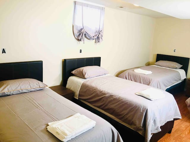 #BASEMENT-A Shared Room in Annapolis(MALE ONLY)