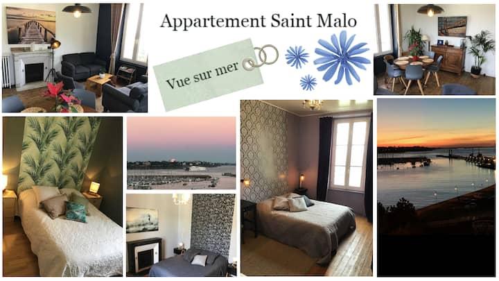 Bel appartement vue mer Saint Malo
