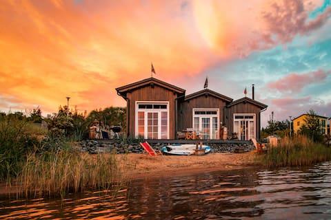 Vierwasser ( Tiny House ) am Hainer See