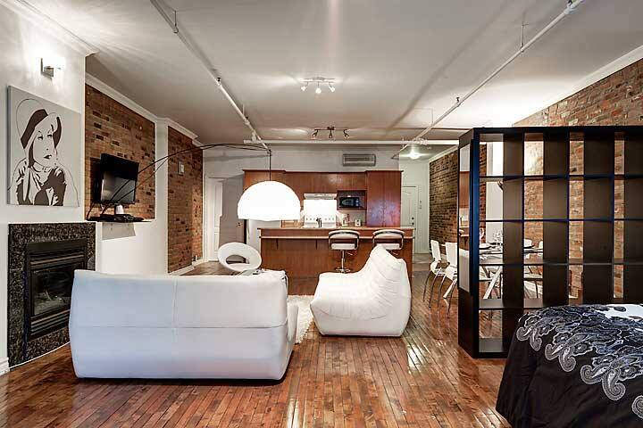 GORGEOUS LOFT IN OLD MONTREAL,  - Montreal - Apartament