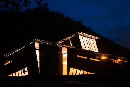 Eco-arquitectura Ecuador river sea - Manglaralto