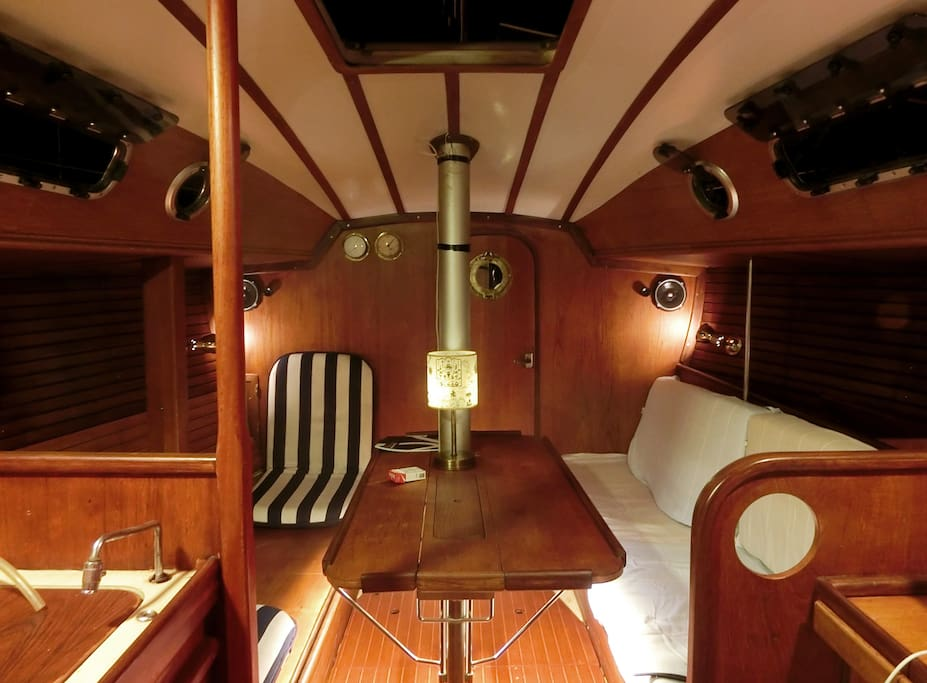 Interior of my Boat