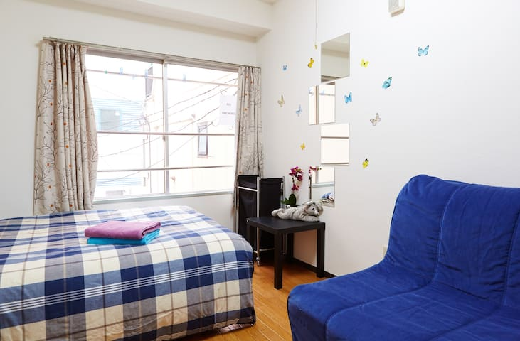 TOKYO CENTRAL near the SIGHTS! 2 min to station #1 - Chuo-Ku - Apartment