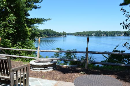 Waterfront Island year rd w/expansive views &dock