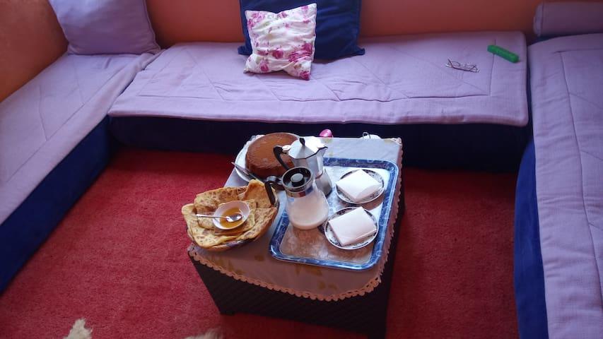Bel appartement au centre ville de Rabat.