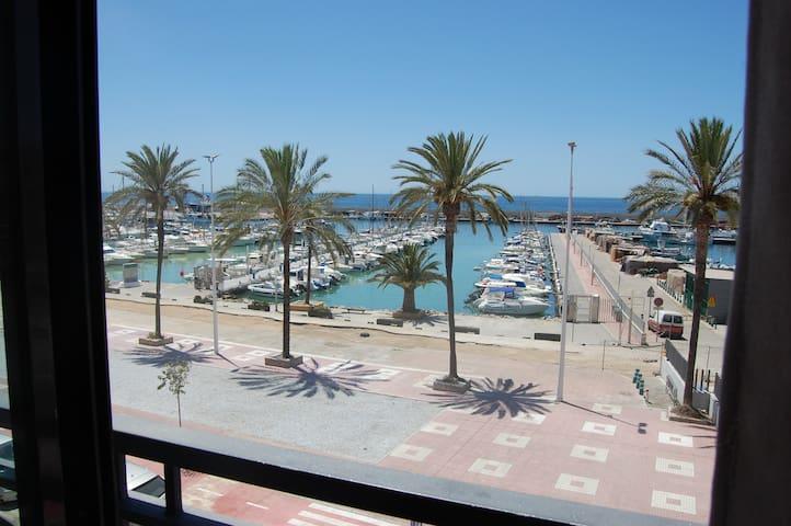 Apartamento en frente del puerto